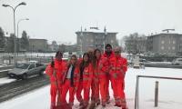 Interventi Anpas Provinciale per allerta meteo gelo e neve
